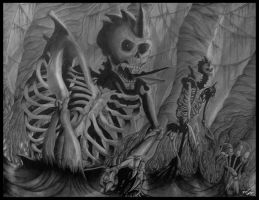 Dark Skeletons by EquilibriumSW