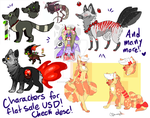 Paypal adopts, need to go! Plus more not seen! by MonsterMeds