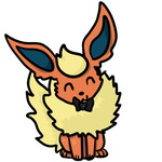 Flareon Icon by Noxious-Dreams