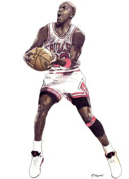 Michael Jordan - Chicago Bulls by MSCampbell