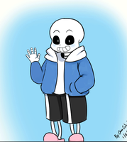 Hello from sans GIF by inupuppy1412