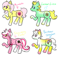 LemonBerry Foals ::OPEN:: by PansyAdopts