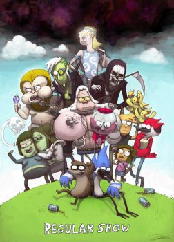 Regular Show by shaolinfeilong