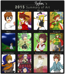2015 in Review by popfan95b