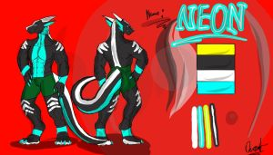 Neon Ref (no clothes just boxers) by neonhelldragon