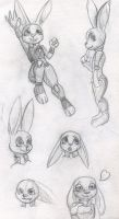 Even More Judy Hopps Doodles by Tigerfestivals