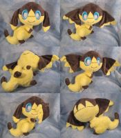 Helioptile plush angles