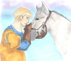 Phoebus and Achilles by Jenniej92