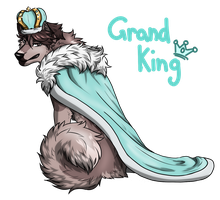 HQ!!/AU: The Grand King [Dog AU] by kasaru2911