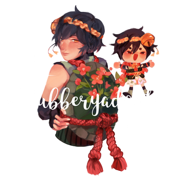 peach hellebore extras by shrubberyadopts
