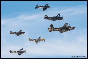 Texas Flying Legends by AirshowDave