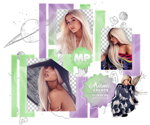 PACK PNG 1103| ARIANA GRANDE by MAGIC-PNGS