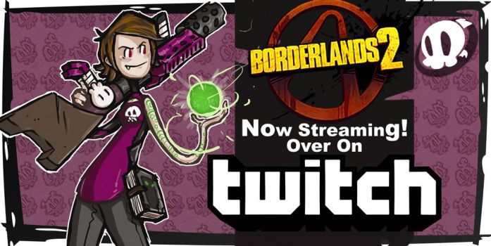 Tittle Card: Streaming Boarder Lands 2 by CluelesssEvil