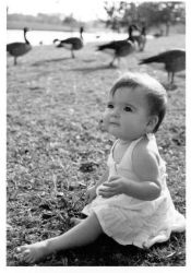 Baby at the park by lilhyperbabe