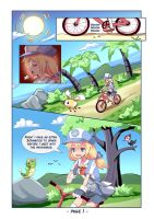 Pokemon: Melody's adventures Comic page 1 by PixiTales