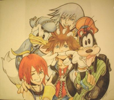 Sora and Friends by Kenobisgal