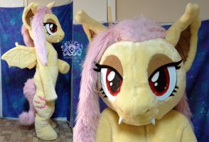 Flutterbat Cosplay Fursuit FOR SALE by LobitaWorks