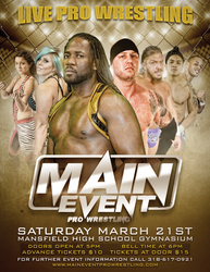 Main Event Pro Wrestling by TheIronSkull
