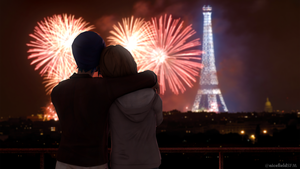 Max and Chloe in Paris together by nicefieldSFM