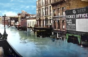 Union Avenue 1903 Flood by PhotosbyRaVen