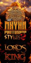 Free Mayan Photoshop Layer Styles  V2 by Industrykidz