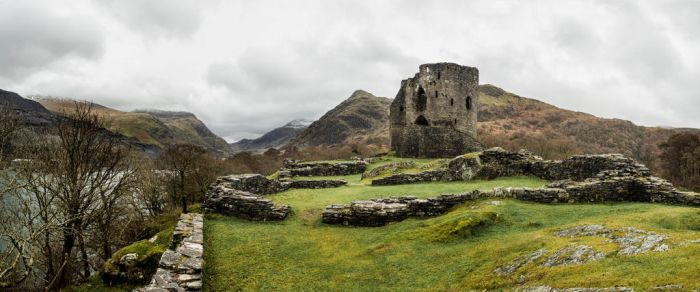 Dolbadarn Castle by Dellboyy