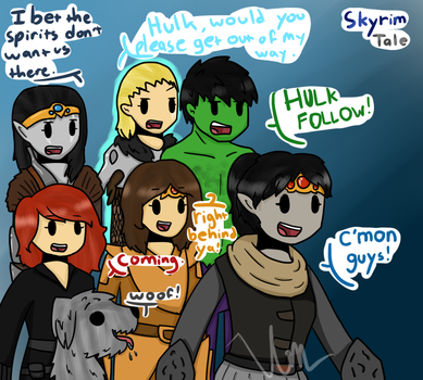 Vahl's Little (but awesome) Army by TheSilverPie