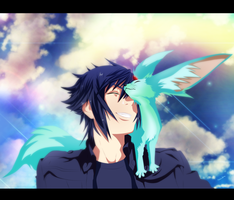 NOCTIS AND CARBUNCLE by MarionSama