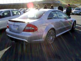 Benz CLK63 AMG Black Series II by Partywave