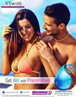 XS Swim - Get WET with Pheromones / test design by idlebg