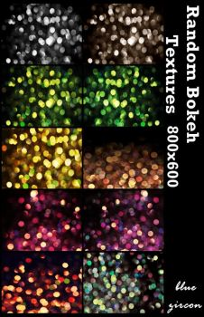 Bokeh Textures Pack by bluezircon-graphics