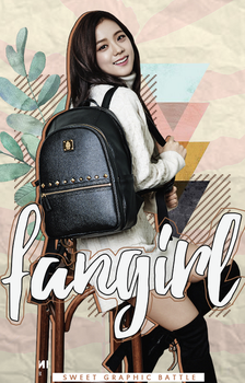 FANGIRL [ENTRY for SWEET GRAPHIC BATTLE] by vroseu