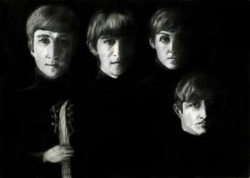 The Beatles by EugenBehm