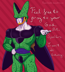 Feel free to pray to your God~ by PaulaChan12