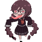 Genocider Syo pixel by wr0