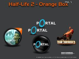 Half-Life 2 The Orange Box Pac by 3xhumed