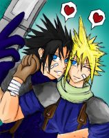 SOLDIERs' LUV- Zack x Cloud by LiliNeko