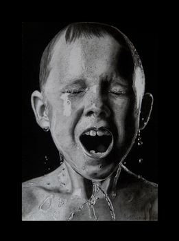Hyperrealism Ice bucket. by keithmore2000