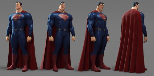 Superman character Sheet by alejit0