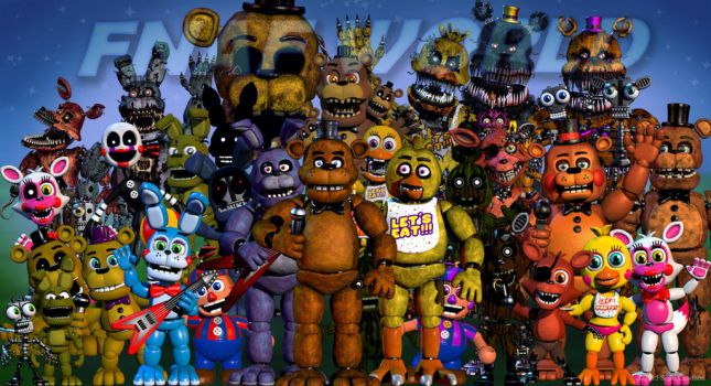 Fnafworld (2) by tipro20