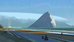 Morro Bay by bearmantooth