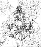 Marvel FEAR Promo Pencils by TerryDodson