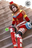 Moon Moxxi Cosplay: Would you like a Moxxtail? by Khainsaw