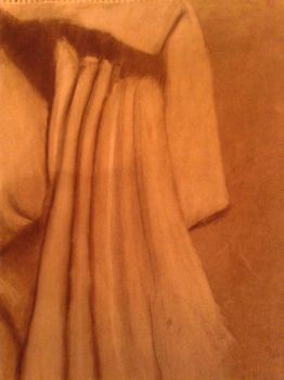 Drapes in charcoal by Progamuffin