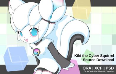Kiki the Cyber Squirrel - Source Download by Jdan-S