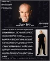 R.I.P. George Carlin by Cru-the-Dwarf