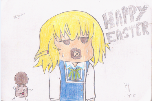Happy Easter 2014 (D-Frag Version) by atyap113