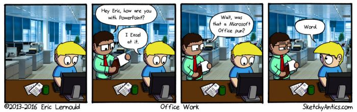 Office Work by SketchyAntics