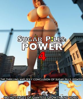 Sugar Pills Power 4 - Now Available! by RedFireD0g
