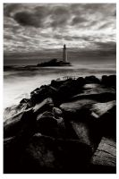 St Mary's Lighthouse by didjerama